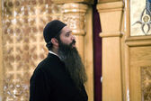 Coptic Orthodox Priest — Stock Photo