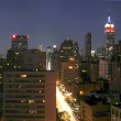 Elevated view of NYC — Stock Photo