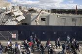 Old Yankee Stadium — Stockfoto