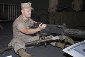 M2 .50 Caliber Machine Gun — Stock Photo