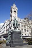 Henry Beecher statue — Stock Photo