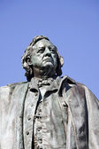 Henry Beecher statue — Stock Photo