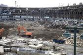 Yıkım eski yankee stadyumu — Stok fotoğraf