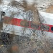 Metro North train derailment in the Bronx — Stock Photo #36690791