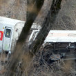 Metro North train derailment in the Bronx — Stock Photo #36690795
