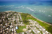 Aerial view of Northeast Puerto Rico — Stock Photo