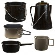 Stock Photo: Cookware Set