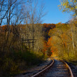 Foto Stock: Railroad Tracks
