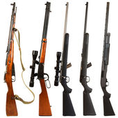 Rifles — Stock Photo