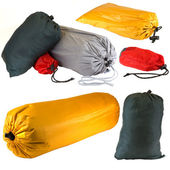 Bags of Camping Equipment — Stock Photo