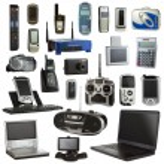 Electronics Isolated on a White Background — Stock Photo #26620865
