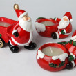 Stock Photo: Candle holders for Christmas 4