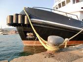 Ship anchored — Zdjęcie stockowe