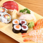 Sushi plate — Stock Photo #23115760