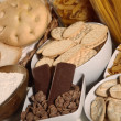 Stock Photo: Biscuits and crackers