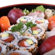 Sushi tray — Stock Photo
