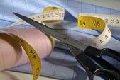 裁缝工具 — 图库照片