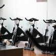 Exercise bike series — Stock Photo
