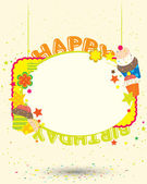 Bithday card — Vecteur