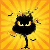 Horror halloween — Stockvektor