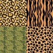 Royalty-Free Stock Vector Image: Animal skin