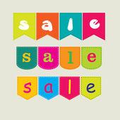 Försäljning banner — Stockvektor