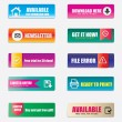 Great collection of website elements — Stock Vector
