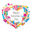 Happy Valentine's Day — Stock Vector #22414673