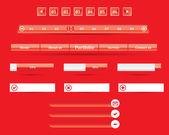 Website interface — Stock Vector