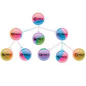 Element internetowy — Wektor stockowy
