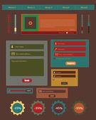 Web element — Cтоковый вектор