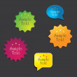 Royalty-Free Stock Vector Image: Set of web elements