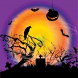 Halloween background — Stock Vector #28100415
