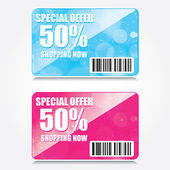 Discounts vector — Stock Vector