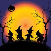 Cadılar bayramınız kutlu olsun — Stok Vektör