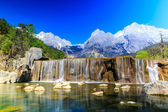 Lijiang: Jade Dragon Snow Mountain — Foto Stock