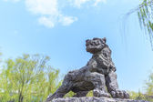 Tiger Sculpture — Stock Photo