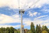 Portland Aerial Tram Tower — Stock Photo