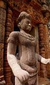 Stone statue in Phanom Rung thai — Stock Photo
