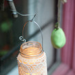Stock Photo: Candle lantern