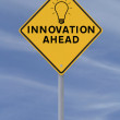 Innovation Road Sign — Stock Photo #11817548