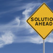 Solution Ahead — Stock Photo