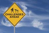 Challenges Ahead — Stock Photo