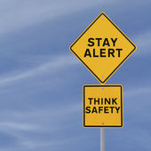 Stay Alert! — Stock Photo