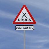 Say No To Drugs — Stock Photo