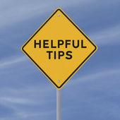 Helpful Tips — Stock Photo
