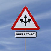 Where To Go? — Stock Photo