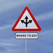 Where To Go? — Stock Photo