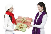 Exchange of Gifts — Stock Photo