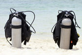 Scuba Tanks — Stock Photo